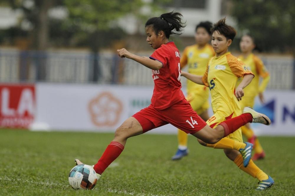 Giải Bóng đá nữ Vô địch U19 Quốc gia 2021: U19 Hà Nội Watabe trở lại đường đua