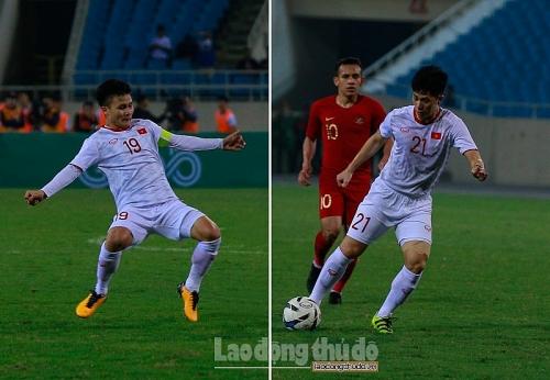Sẽ thiếu vắng Quang Hải, Đình Trọng trong trận CLB Hà Nội gặp Yangon United