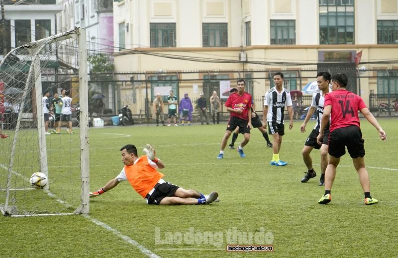 Giải bóng đá Cúp báo Lao động Thủ đô: Kỷ lục sút luân lưu của vòng 1/8