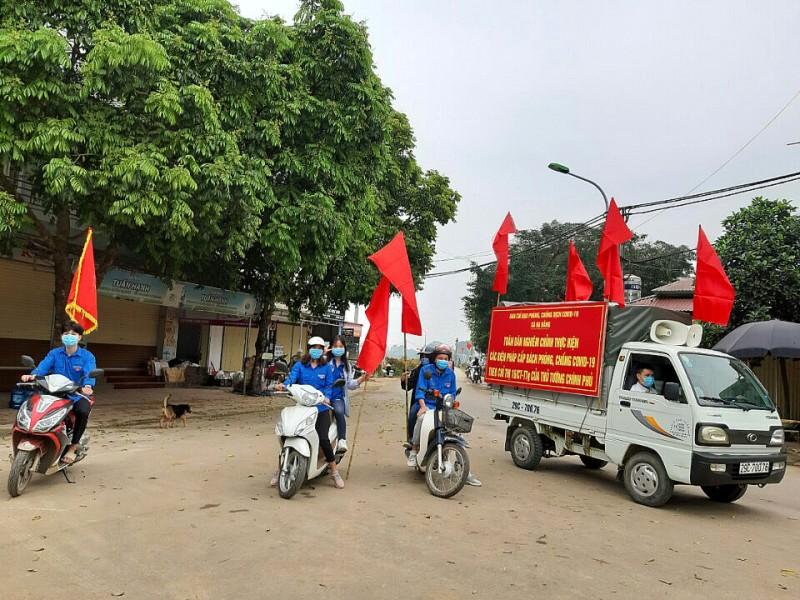 Huyện Thạch Thất: Nghiêm túc thực hiện các biện pháp phòng, chống dịch bệnh COVID-19