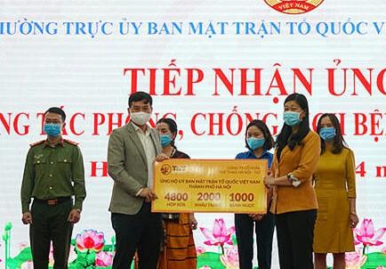 CLB Hà Nội ủng hộ 1 ngày lương góp phần phòng, chống dịch Covid-19