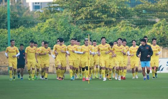 Đội tuyển Việt Nam sẽ hội quân tại Bình Định để chuẩn bị cho Vòng loại World Cup 2022