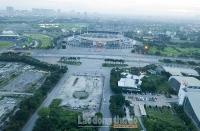 Toàn cảnh khu đất có thể trở thành Quảng trường Văn hóa - Thể thao Thanh niên