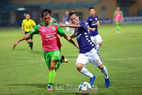 Hà Nội FC 3-0 Đồng Tháp: Đẳng cấp nhà vô địch