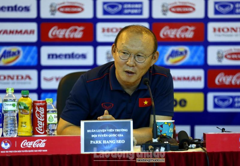HLV Park Hang Seo: 'Tôi không lựa chọn cầu thủ vì mối quan hệ'