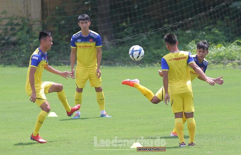 U23 Việt Nam luyện quân trước khi đối đầu U23 Myanmar