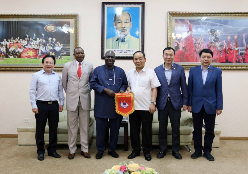 Đội tuyển bóng đá Việt Nam sẽ có trận đấu giao hữu với Nigieria
