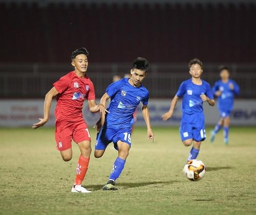 Thắng U15 Sanvinest Khánh Hòa, Tây Ninh thoát vị trí đáy bảng trong gang tấc