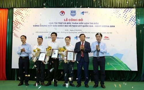 Ngày 1/7/2019 khởi tranh Giải Bóng đá Vô địch U17 Quốc gia - Next Media 2019