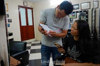 Tiệm cắt tóc không lời ở Hà Nội