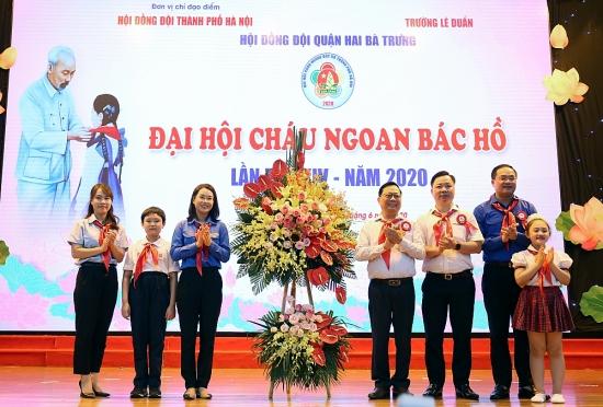 Đại hội Cháu ngoan Bác Hồ quận Hai Bà Trưng lần thứ XIV