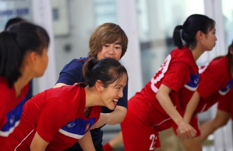 Đội tuyển U19 nữ Quốc gia chuẩn bị tham dự giải đấu giao hữu tại Hàn Quốc