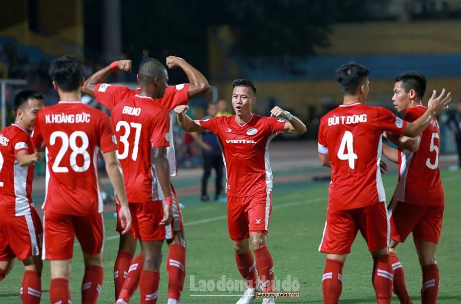 Viettel 4-0 Hải Phòng: Chiến thắng đầu tiên trên sân nhà của đội bóng áo lính