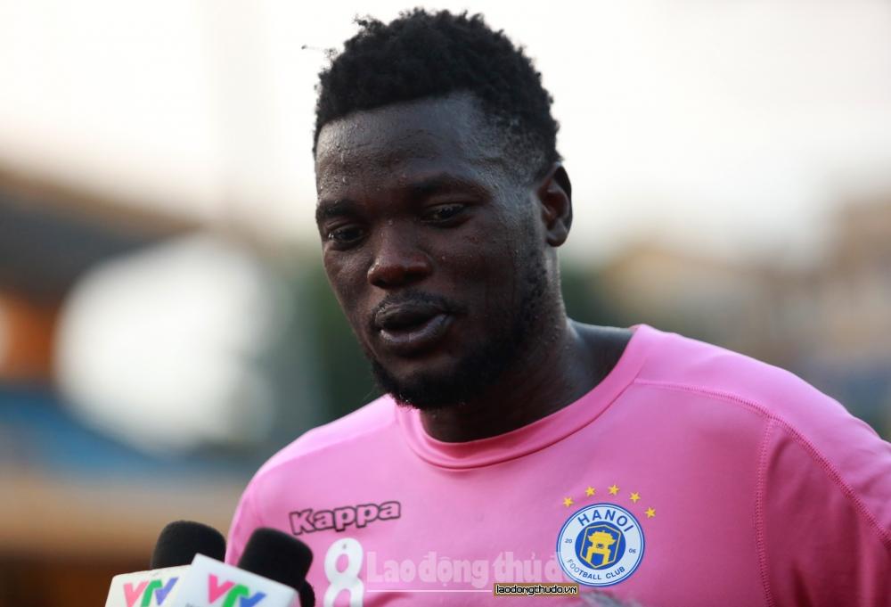 Oloya Moses: Hà Nội FC sẽ bảo vệ thành công ngôi vô địch