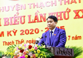 Phát triển huyện Thạch Thất theo hướng đô thị xanh