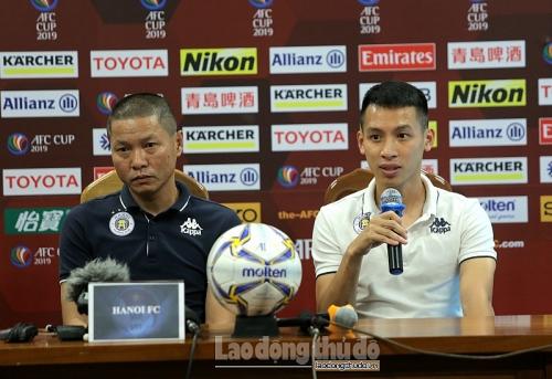 HLV Chu Đình Nghiêm: Quang Hải đã có bàn thắng và giải toả được áp lực lớn