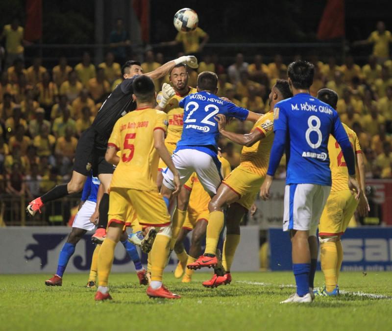 Than Quảng Ninh 0-0 Nam Định: Kìm chân nhau trên bảng xếp hạng