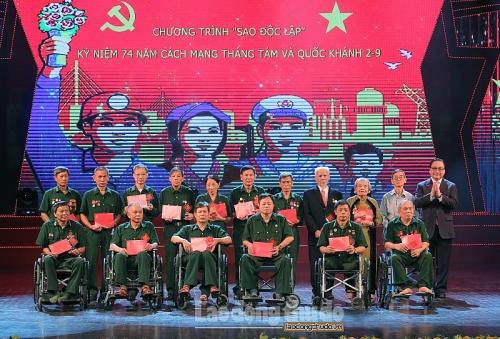 sao doc lap chuong trinh ky niem 74 nam cach mang thang tam va quoc khanh 29