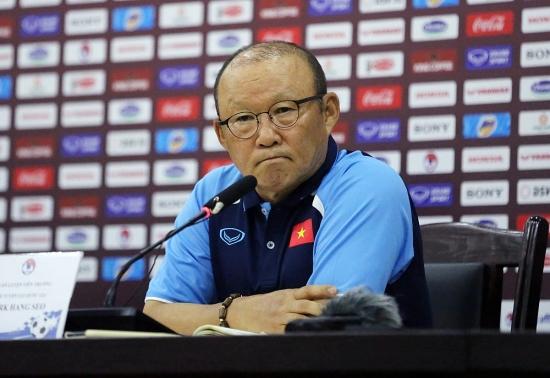 """Huấn luyện viên Park Hang-seo: """"Mục tiêu của tôi là đáp ứng những kỳ vọng trong năm 2021"""""""