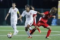 Tuyển nữ U15 Việt Nam thua đậm trong trận đầu ra quân