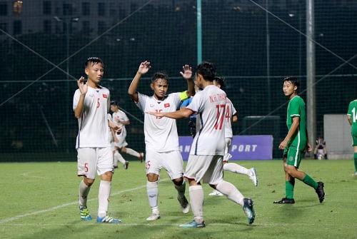 Tuyển U16 Việt Nam gây kinh hoàng cho Macau bằng đội hình dự bị