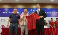 Kao Việt Nam chính thức trở thành Nhà tài trợ các Đội tuyển Quốc gia Việt Nam