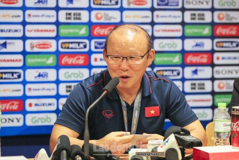 Huấn luyện viên Park Hang Seo: Điều tôi lo lắng nhất đã không xảy ra