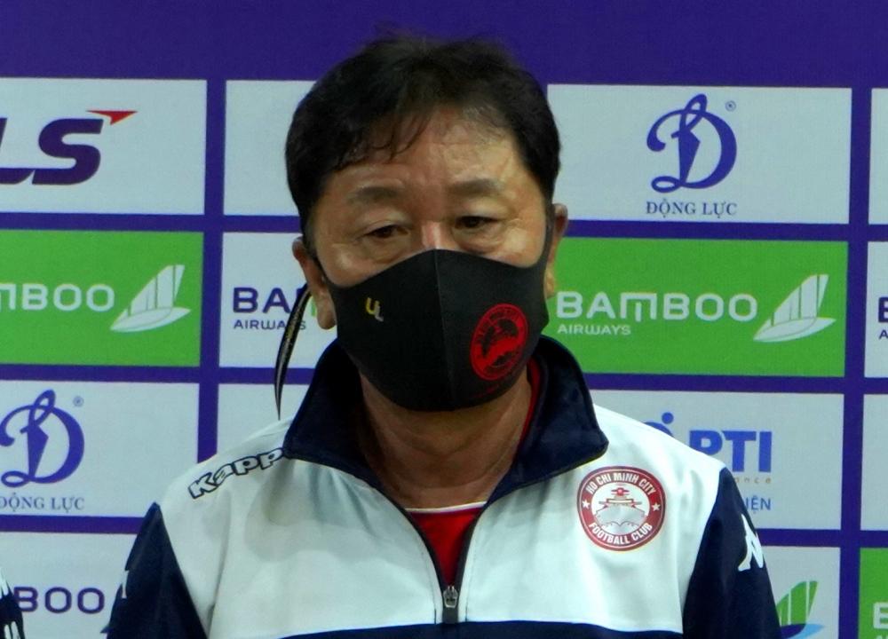 Ông Chung Hae-seong: Thành phố Hồ Chí Minh còn nhiều cầu thủ thay Công Phượng, Huy Toàn