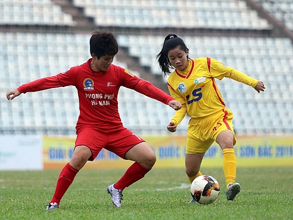 Sắp khởi tranh Giải bóng đá nữ Vô địch Quốc gia 2020