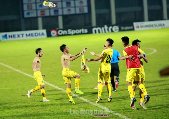 U17 Sông Lam Nghệ An đăng quang sau gần 8 năm chờ đợi