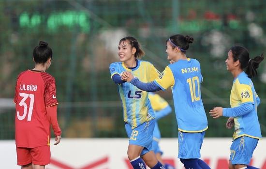 Sơn La có 1 điểm, Phong Phú Hà Nam thắng trận đầu tiên từ đầu mùa giải
