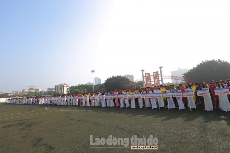 Hơn 100 đội bóng tham gia Giải bóng đá học sinh THPT Hà Nội – Báo An ninh Thủ đô lần thứ 19