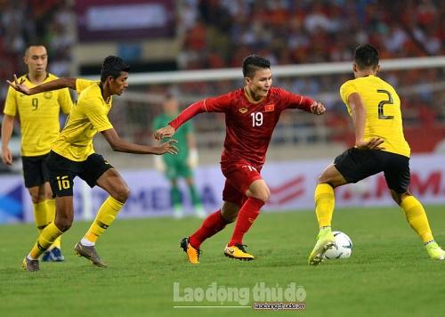 Quang Hải tỏa sáng, tuyển Việt Nam giành 3 điểm trước Malaysia