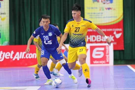 Giải futsal HDBank 2020: Bị Thái Sơn Bắc chia điểm, Sahako gặp khó ở tốp đầu