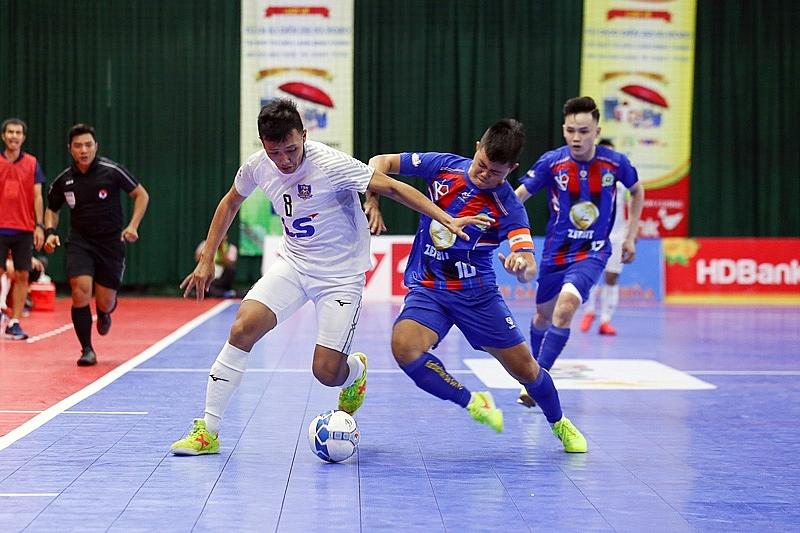 Giải futsal HDBank Vô địch quốc gia 2020: Thái Sơn Nam vững ngôi đầu bảng