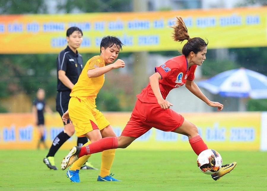 Giải bóng đá nữ Vô địch quốc gia – Cúp Thái Sơn Bắc 2020: Phong Phú Hà Nam có chiến thắng thứ 2