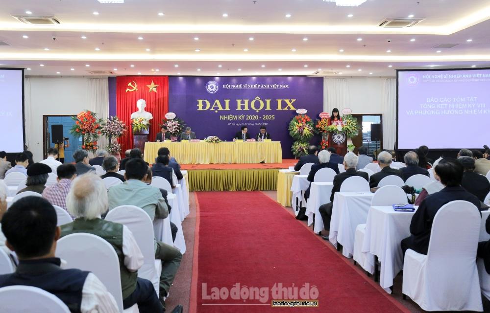 Nghệ sĩ Nhiếp ảnh Trần Thị Thu Đông được bầu làm Chủ tịch Hội Nghệ sĩ Nhiếp ảnh Việt Nam nhiệm kỳ IX