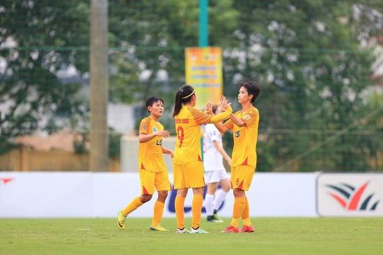 Giải bóng đá nữ Vô địch quốc gia – Cúp Thái Sơn Bắc 2020: Tăng tốc để về đích