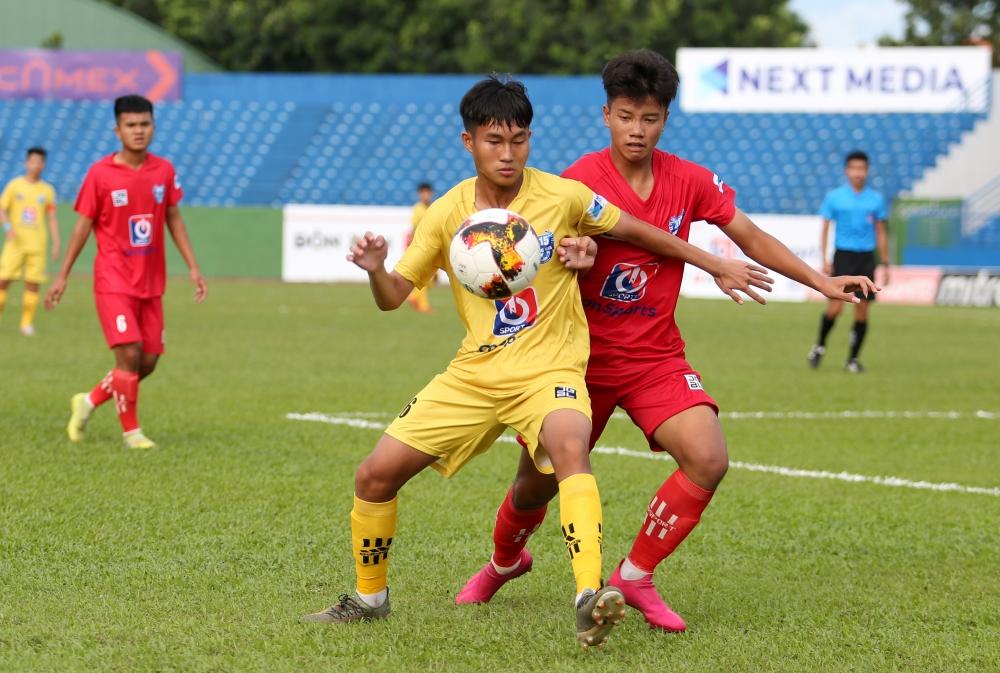 U15 Viettel bị thành phố Hồ Chí Minh cầm hòa 1-1