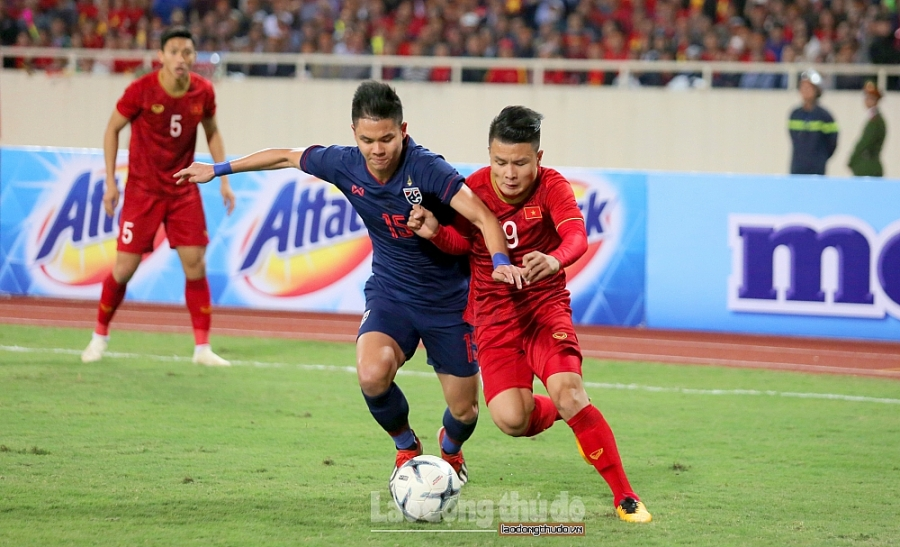 Thái Lan thu hẹp khoảng cách với Việt Nam trên Bảng xếp hạng FIFA tháng 10