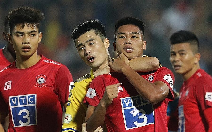 VFF nghiêm khắc kỷ luật các cầu thủ vi phạm tại vòng 4 giai đoạn 2 V League 2020