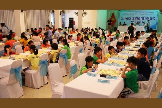 Giải Cờ tướng trẻ toàn quốc 2020 thu hút 250 kỳ thủ tranh tài
