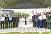 Mỹ bàn giao 13,7 ha đất 'sạch dioxin' tại sân bay Đà Nẵng cho Việt Nam