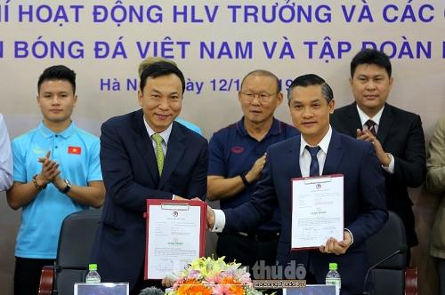 Lộ diện thêm nhà tài trợ trả lương cho Huấn luyện viên Park Hang-seo