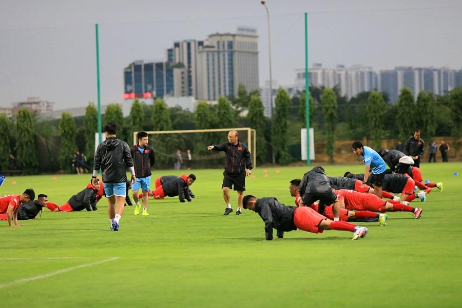 Huấn luyện viên Park Hang-seo sẵn sàng cho mục tiêu năm 2021