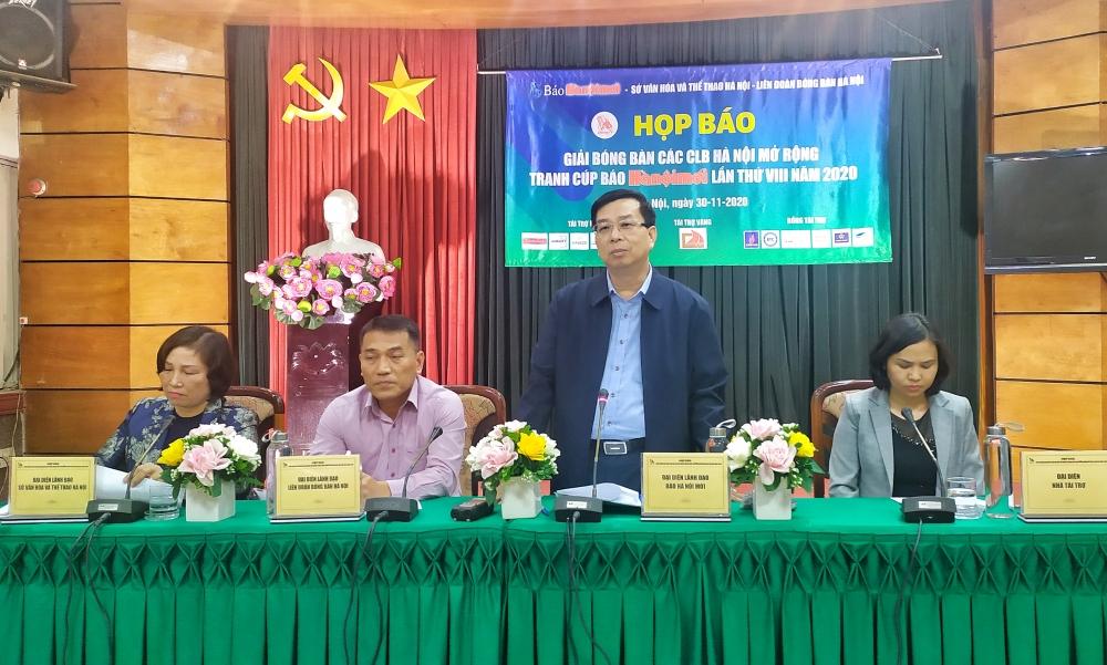 Nhiều cây vợt tên tuổi sẽ tranh tài tại Giải bóng bàn các câu lạc bộ Hà Nội mở rộng, tranh Cúp Báo Hànộimới lần thứ VIII