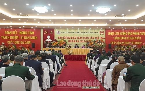 Đại hội Đại biểu Hội Nạn nhân chất độc da cam/dioxin toàn quốc lần thứ IV
