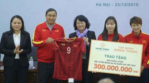Đội tuyển bóng đá nữ Việt Nam sẽ được tài trợ 100 tỉ đồng