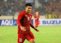 Hà Đức Chinh ghi thêm điểm với thầy Park