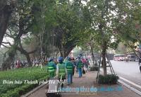 Đảm bảo Thành phố Hà Nội xanh - sạch - đẹp để đón Tết
